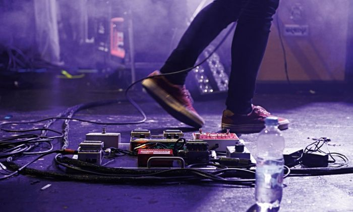 Insomnia, anxiety, break-ups … musicians on the dark side of touring || Stage struck: for many musicians, settling down after the high of performance can be difficult. Photograph: Future/Rex Shutterstock
