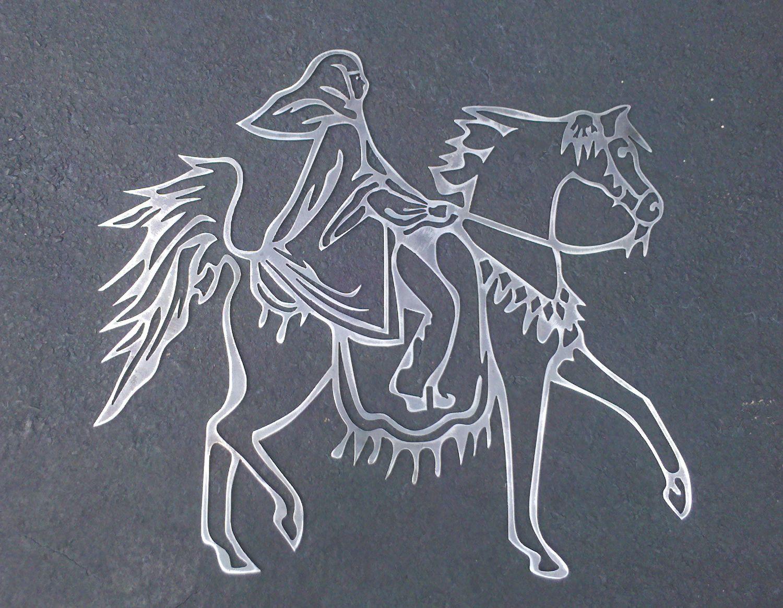 Arabian Costume Horse Metal Art