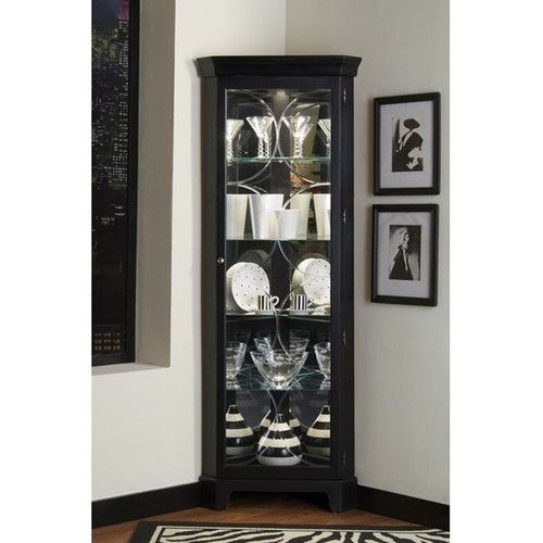 Found It At Wayfair Oxford Black Corner Curio Cabinet Thoughts