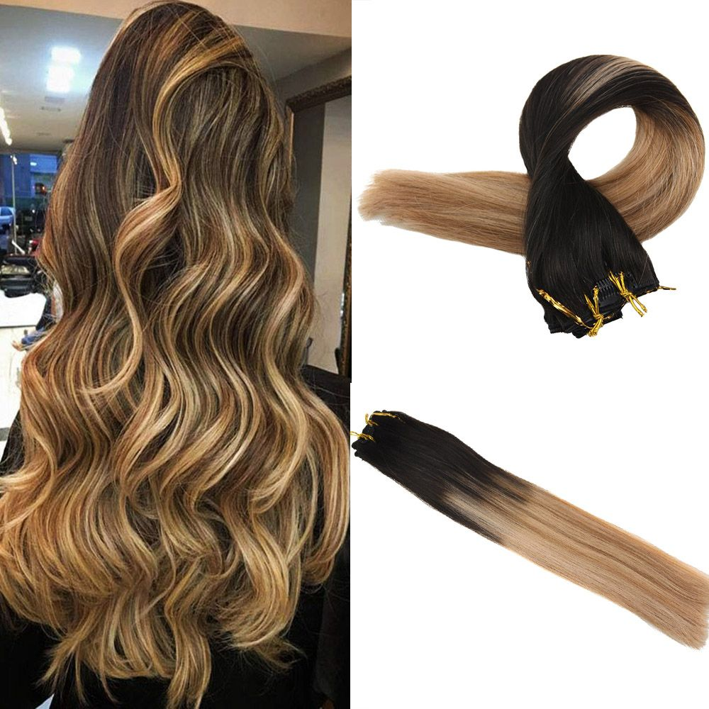 Clip In Hair Extensions 100 Remy Human Hair 10 Pieces
