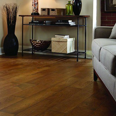 Anderson Floors Chester Random Width Engineered Hickory Hardwood