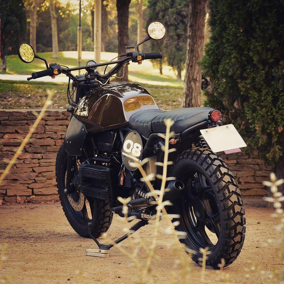 Bmw Scrambler Bmw K75 Scrambler Ferro Velho Motos Antigas Bikez