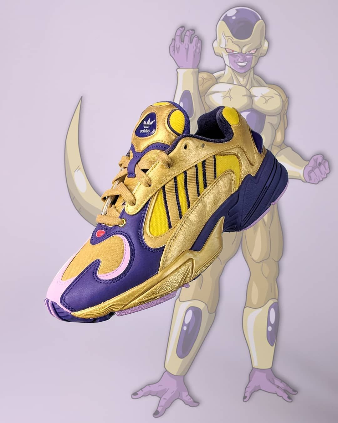 "cheap for discount 68bdc cc5d5  edmondlooi on Instagram  ""Golden Frieza Yung-1. On-feet tomorrow at   sneakerlah . (I bet someone going to comment more like a Thanos Yung-1 😤)"""
