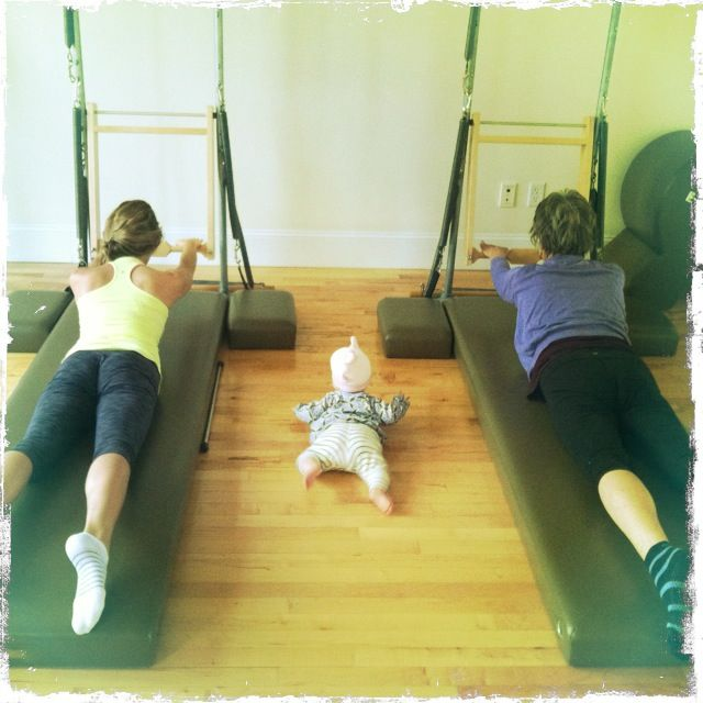 Pilates For The Generations.