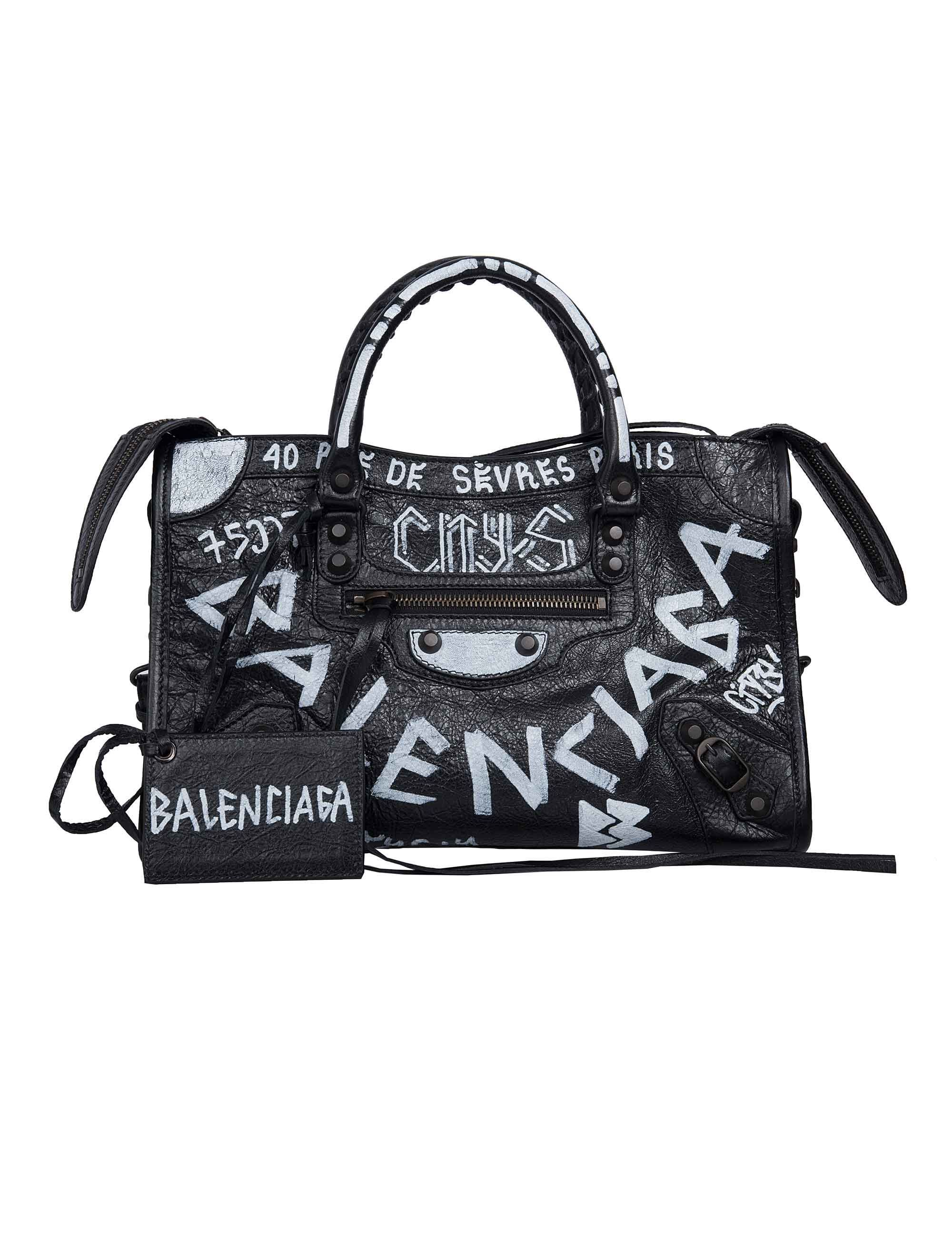 BALENCIAGA CLASSIC CITY S GRAFFITI.  balenciaga  bags  shoulder bags  hand  bags  leather   9a9197ff4d913