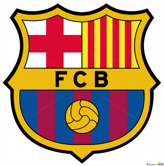 How to draw barcelona football logos how to draw for Draw my logo