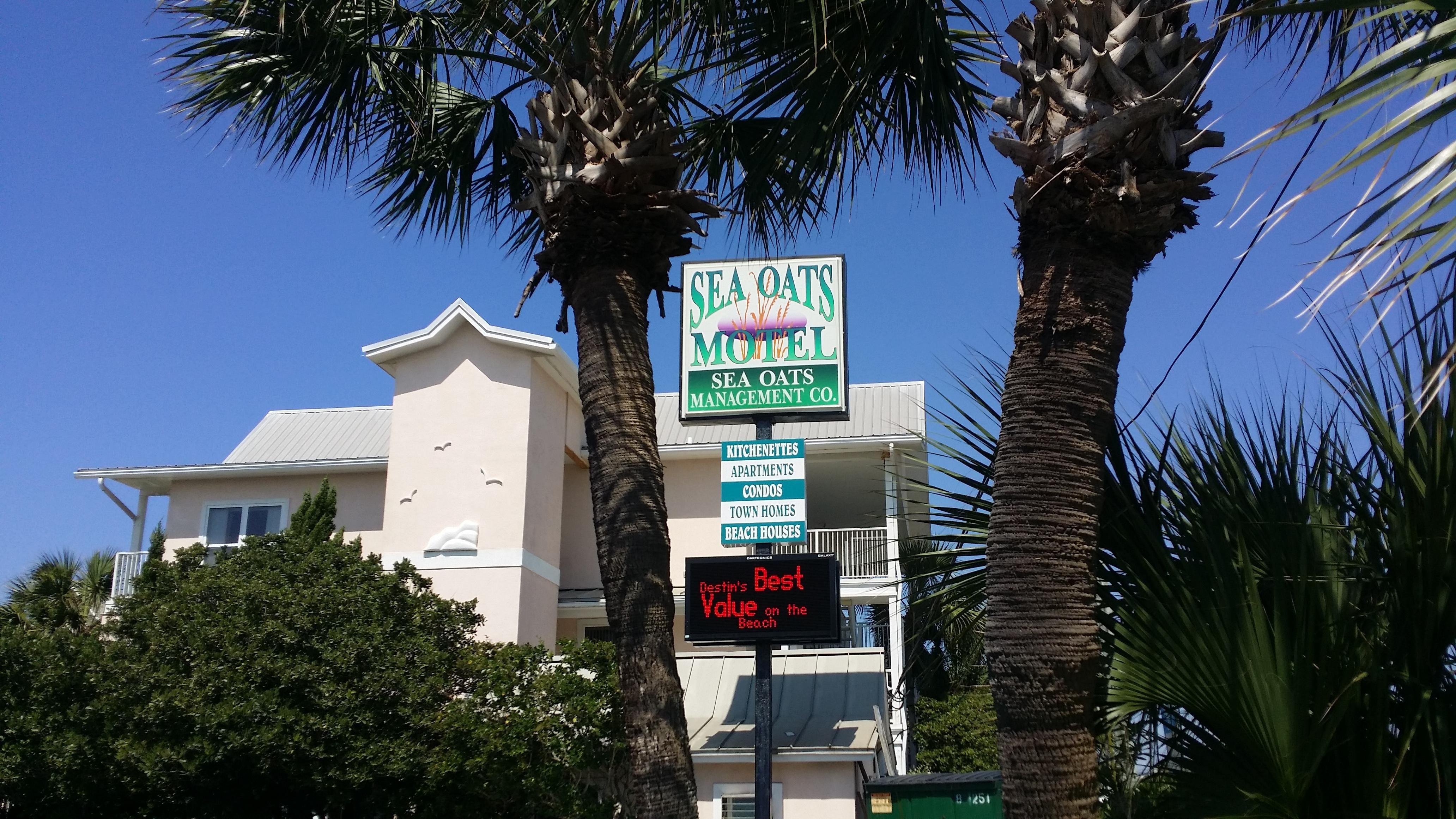 Sea Oats Motel Destin Fl 2016 Reviews Tripadvisor Beachfront Accommodations