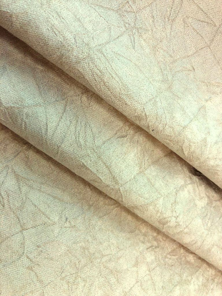 Soft Brushed Microfiber Home Decor Fabric With Felt Backing For
