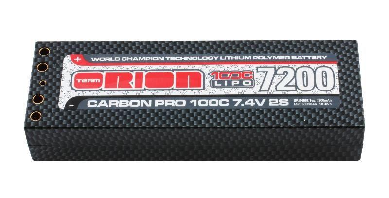 Losi TLR331006 Carbon Battery Strap TEN-SCTE 2.0