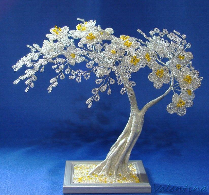 Картинки дерево бисероплетение