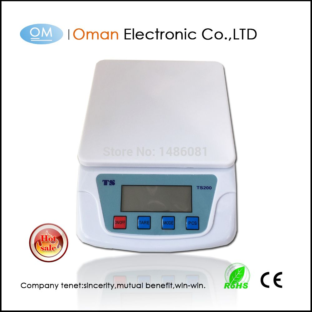Oman T200 Household Scale Kitchen Scale 10kg With Tare Funtion