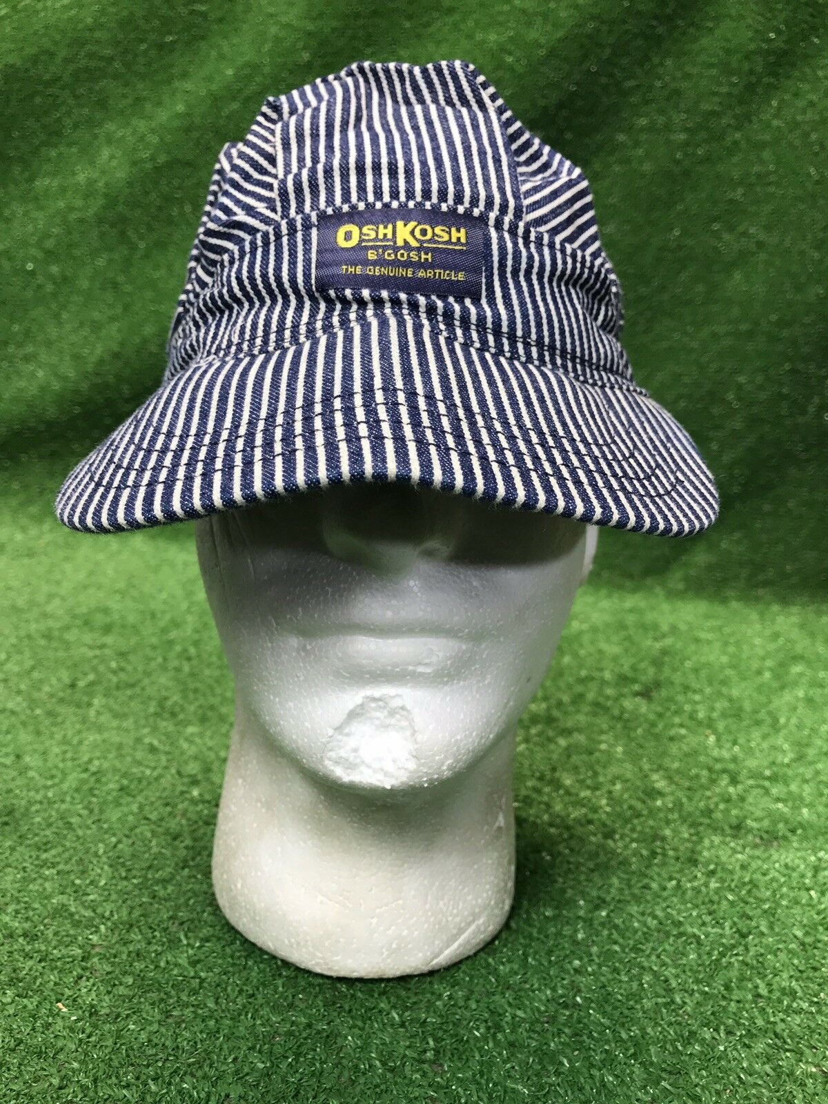 Fashion Vintage Hat Movie Director Strip Adjustable Dad Hat Baseball Cowboy Cap