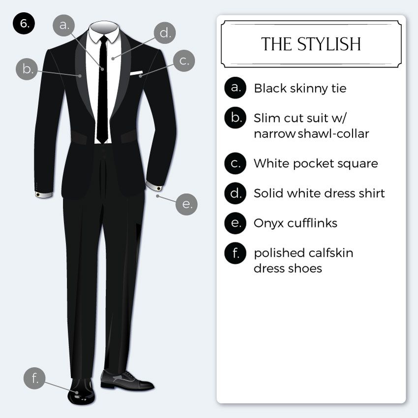 Black Tie Optional Dress Code Guide Mens Formal Style Pinterest