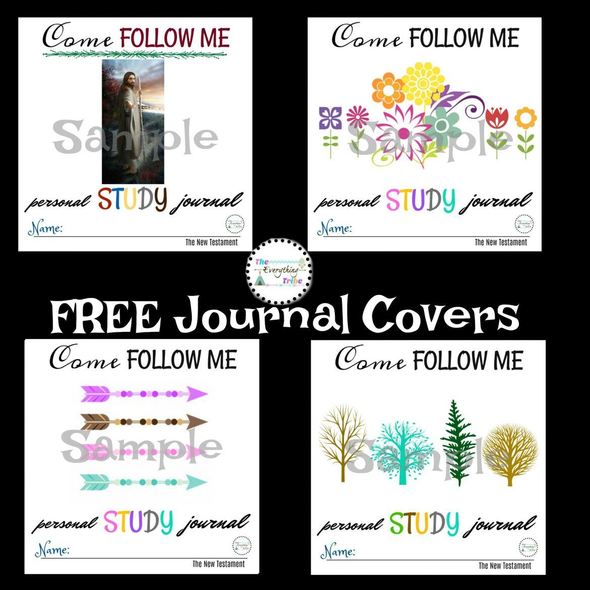 Come Follow Me Journal Covers With Images