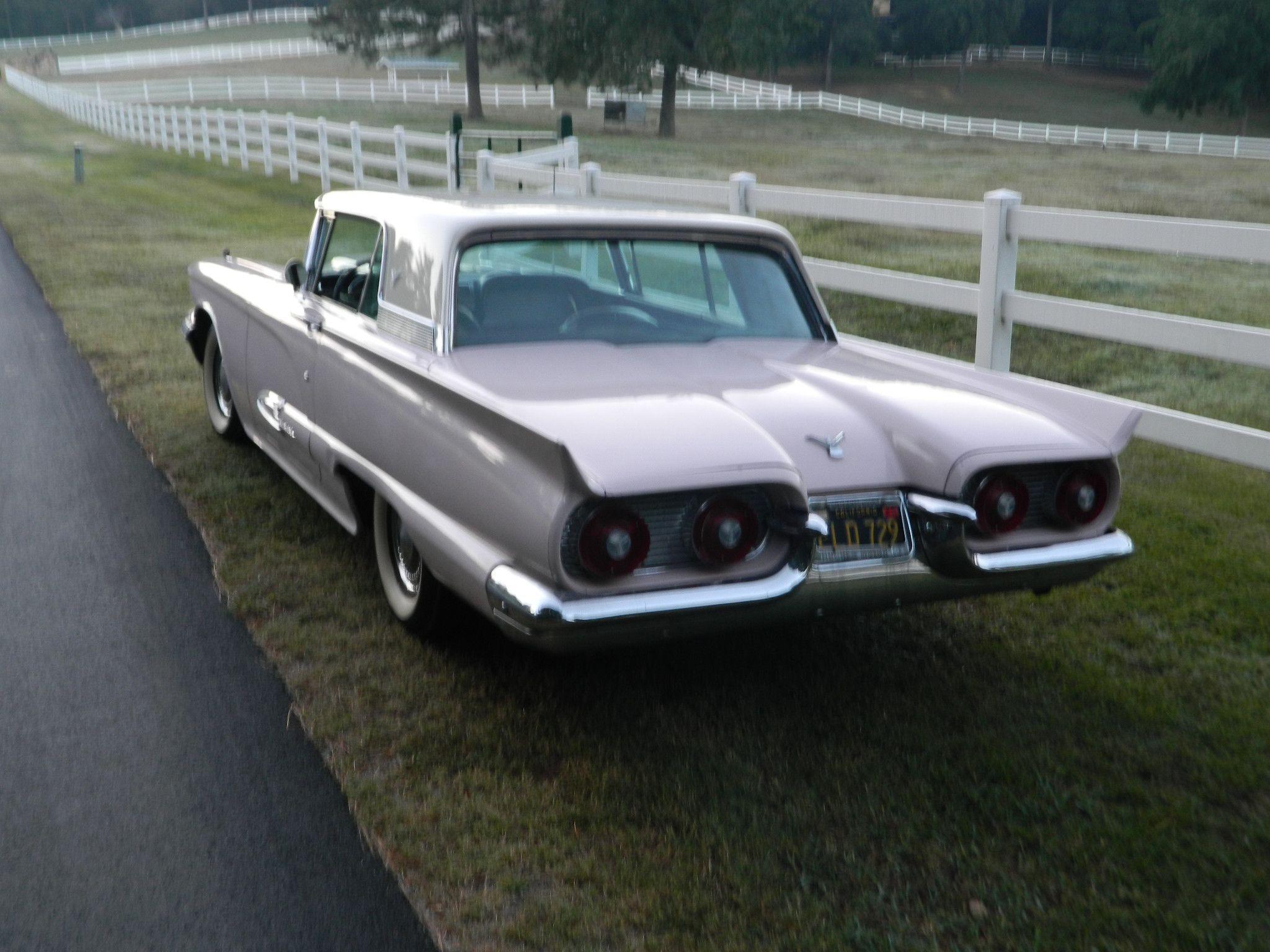 59 T-bird | Motor City Girl | Pinterest | Ford thunderbird, Classic ...