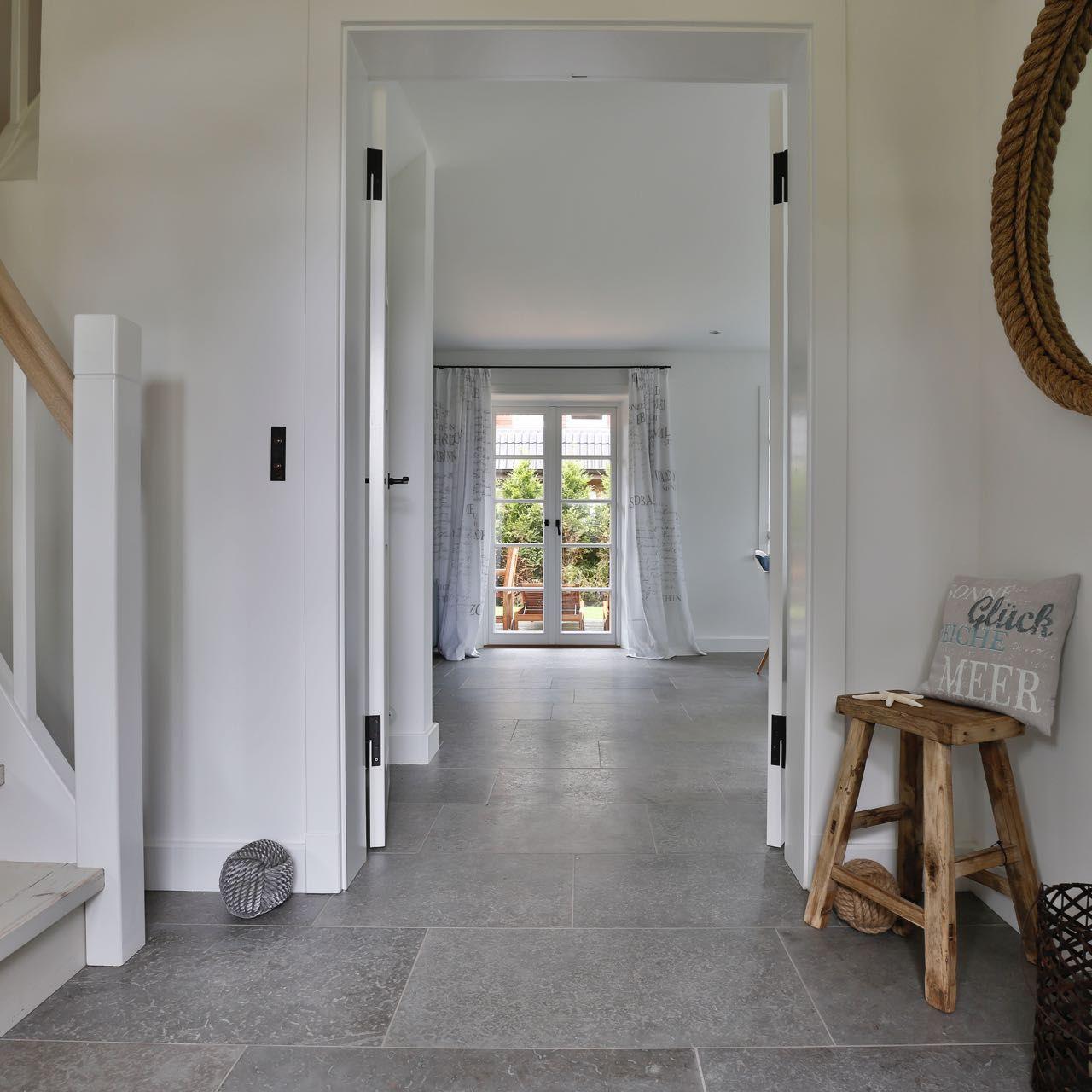 Old Gårdby Limestone  Haus fliesen, Strandhausdekor, Steinboden