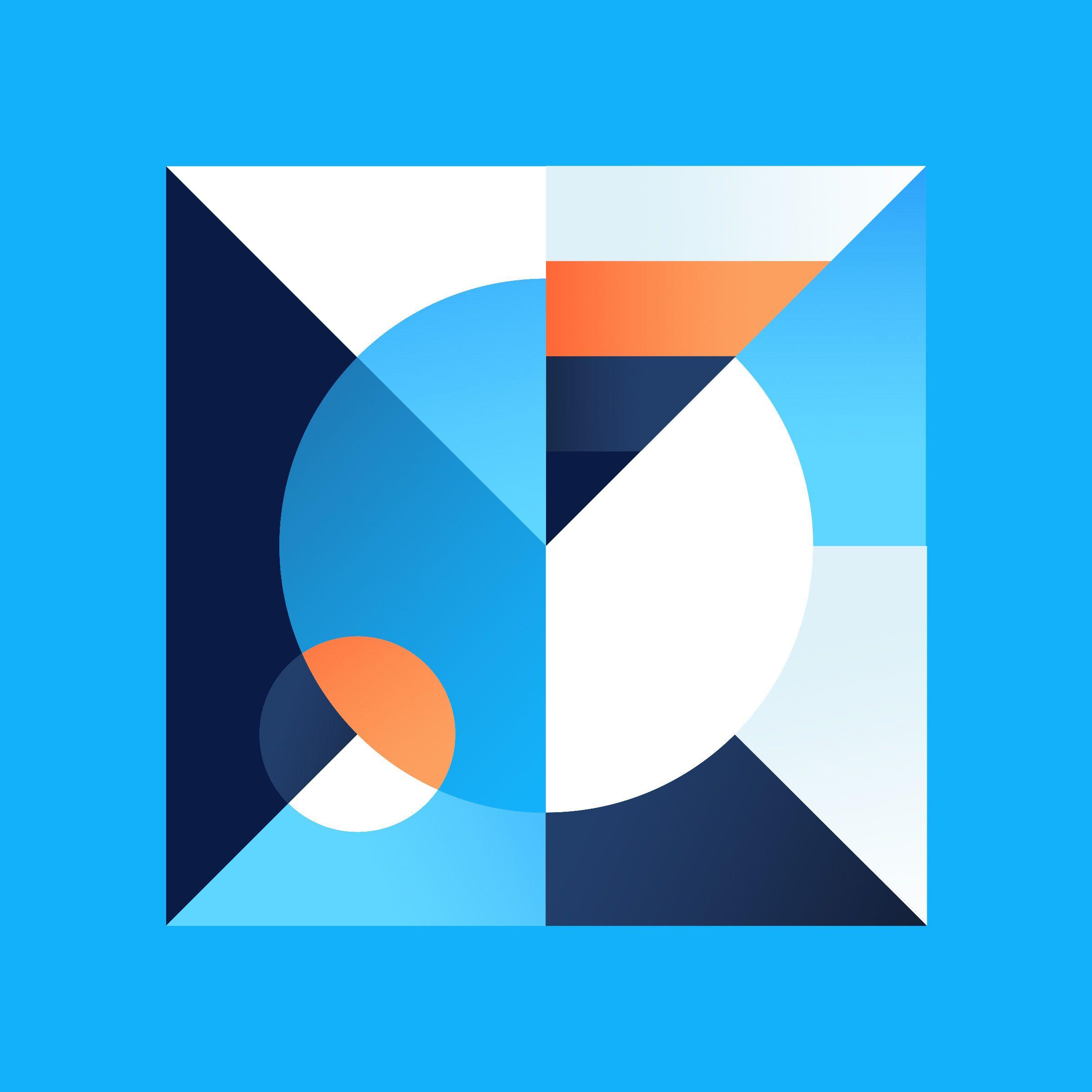 Kleurstaal On Behance In 2019 Geometric Shapes Design