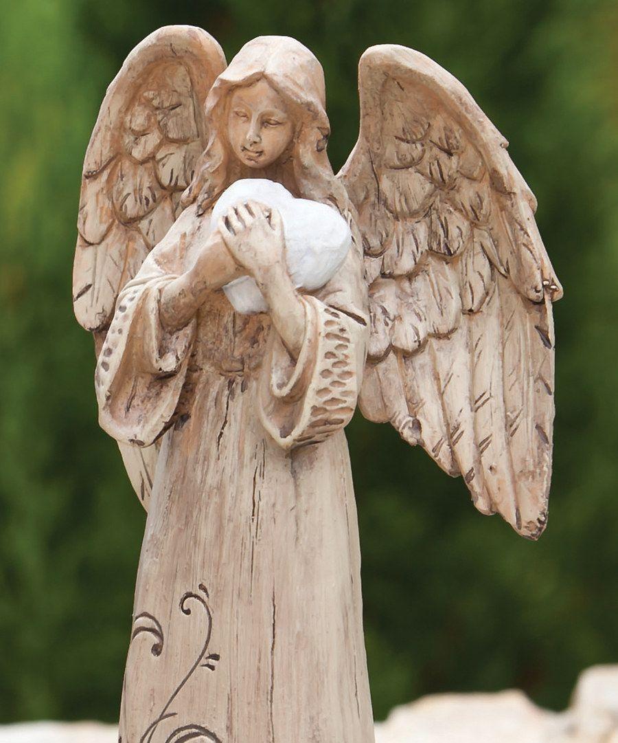 Love angel statue angel statues statue angel cat