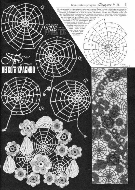 TRICO y CROCHET-madona-mía: Aplicaciones para crochet Ruso o ...