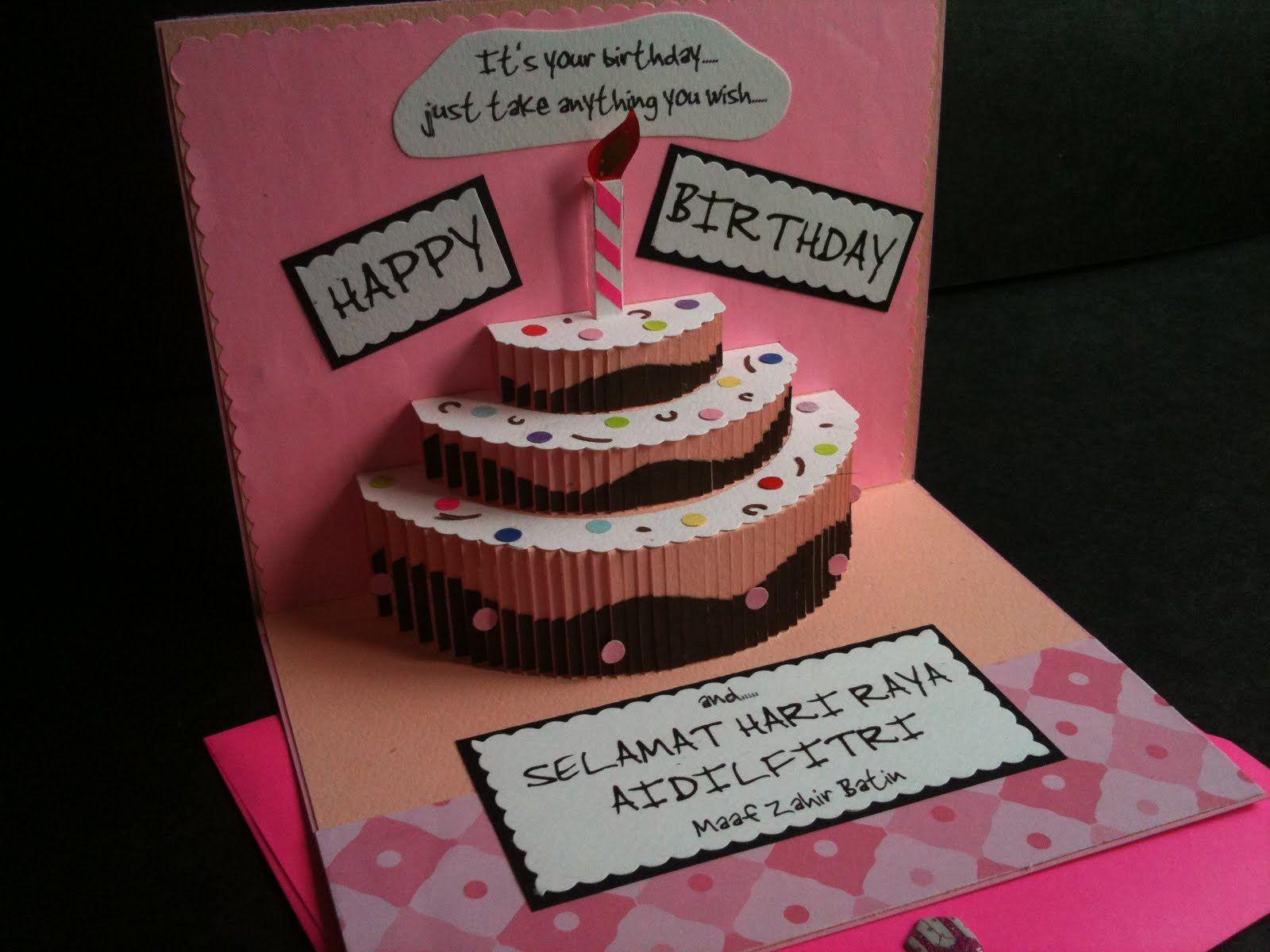 Valentine Card Design Happy Birthday Wishes Creative Handmade Birthday Card Ideas For Best Friend