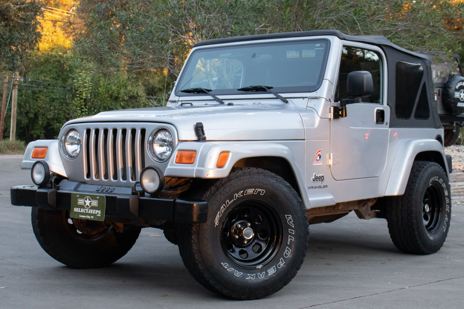 Used 2003 Jeep Wrangler X Freedom Edition For Sale Select Jeeps Inc With Images Jeep Jeep Wrangler X Jeep Wrangler