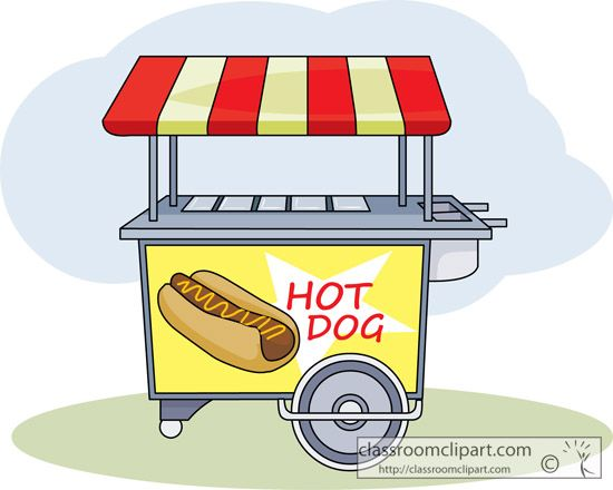 Pictures Of A Hot Dog Stand
