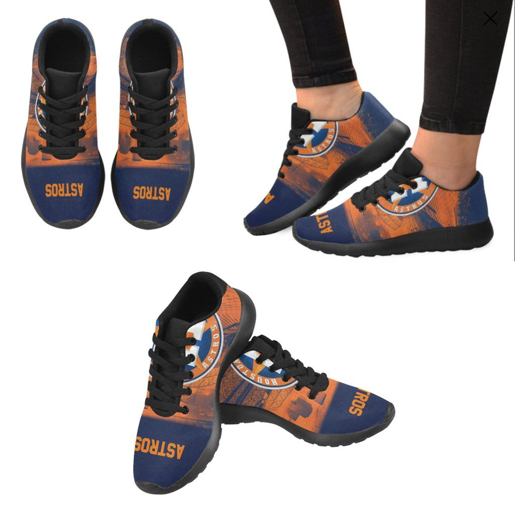 47a33d08b293 Houston Astros Sneakers Men Women Kids  Running Shoes   World Series Champs  Shoes - 50