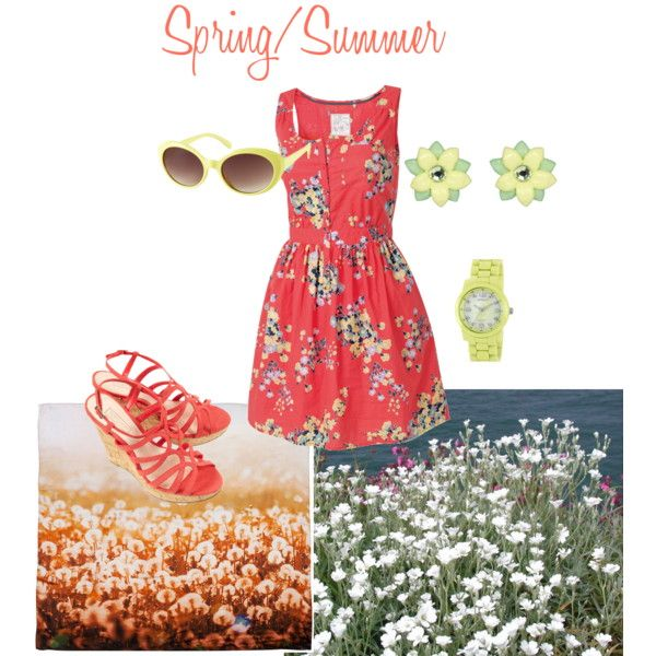 spring/summer, created by emilyellis on Polyvore