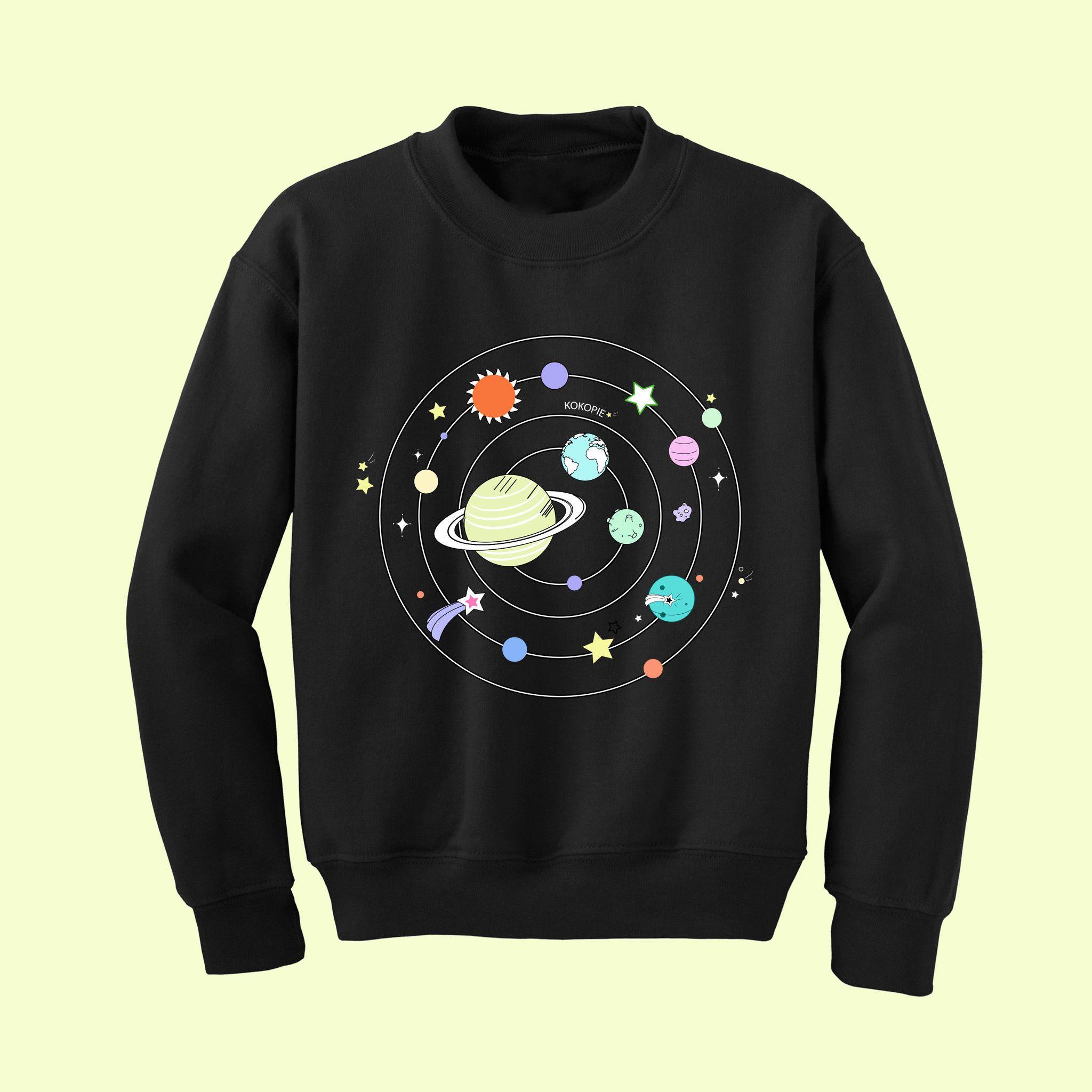 Solar System Embroidery Jumper Fashion Pinterest Solar System