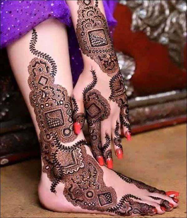 51 most beautiful bridal mehndi designs legs mehndi