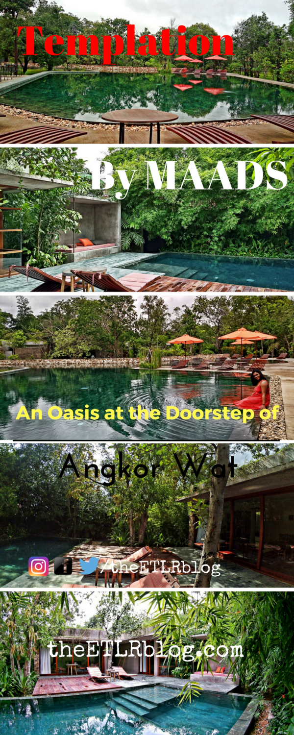 Just 5 minutes away from Angkor Wat lies Templations - The perfect luxurious oasis, that you need to be in , in Siem Reap, Cambodia | Siem Reap Travel | Cambodia Travel | Luxury Hotels in Siem Reap | Luxury Travel in South East Asia | #Travel #Cambodia #SiemReap #LuxuryTravel