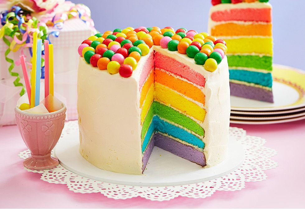Top 10 Best Spring Party Ideas For 2018 Rainbow Cakes Cake And