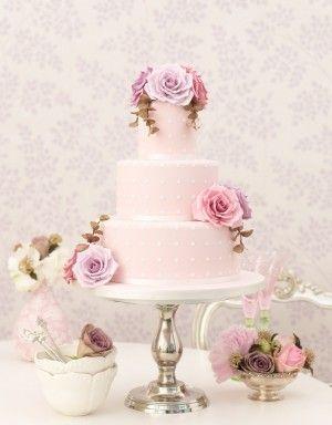 Vintage Roses Cake By Zoe Clark Wedding Cakes London Surrey And UK
