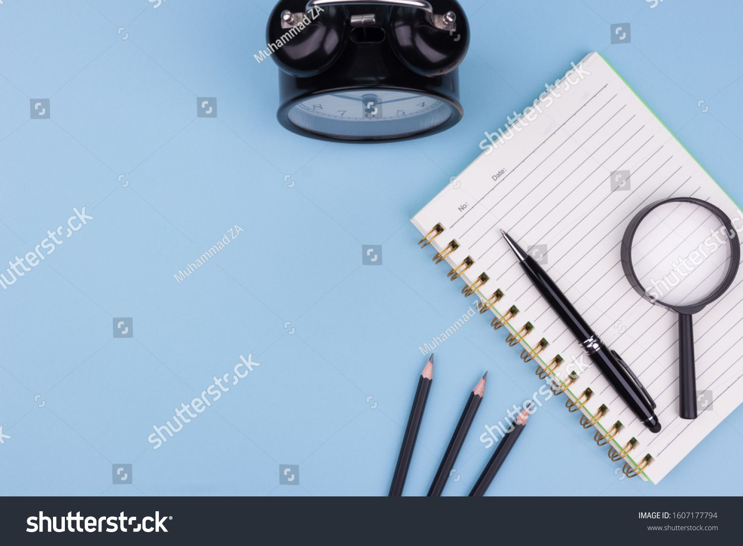 Education And Back To School Concept Flat Lay Creative