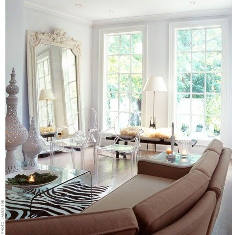 Adore The Floor Mirror In This Picture. This Site Has Lots Of Pics Of  Gorgeous