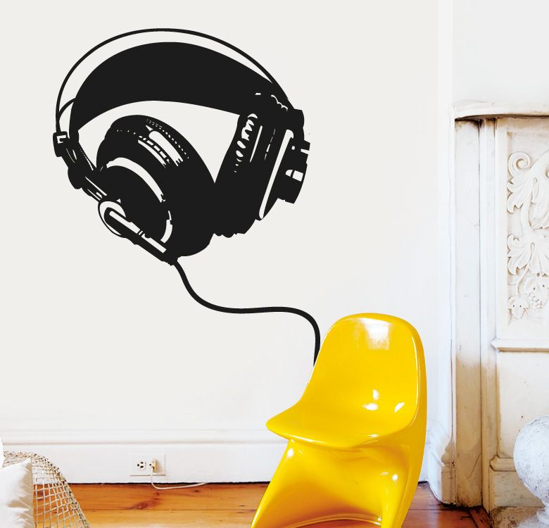 HEADPHONES Httpwwwmyvinilocomvinilospopviniloauricolares -  custom pontoon decals