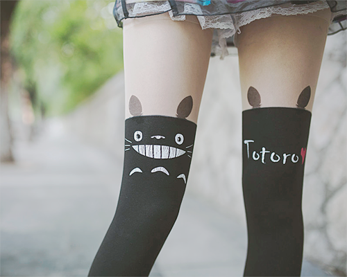 e9a2956a093 my neighbor totoro tights stockings☆