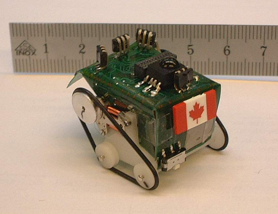 Alice micro robot tracked variant microbots pinterest