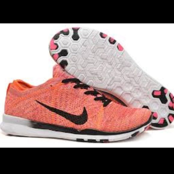 cheap for discount 822a8 e6c53 Womens Nike Free TR Flyknit 5.0 NWT! Shoe color is Citrus. Selling these  for someone so NO TRADES on this item. Womens 9.5 euro 41.5 Nike Shoes  Athletic ...