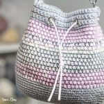 Mosaic Bucket Bag Crochet-Along
