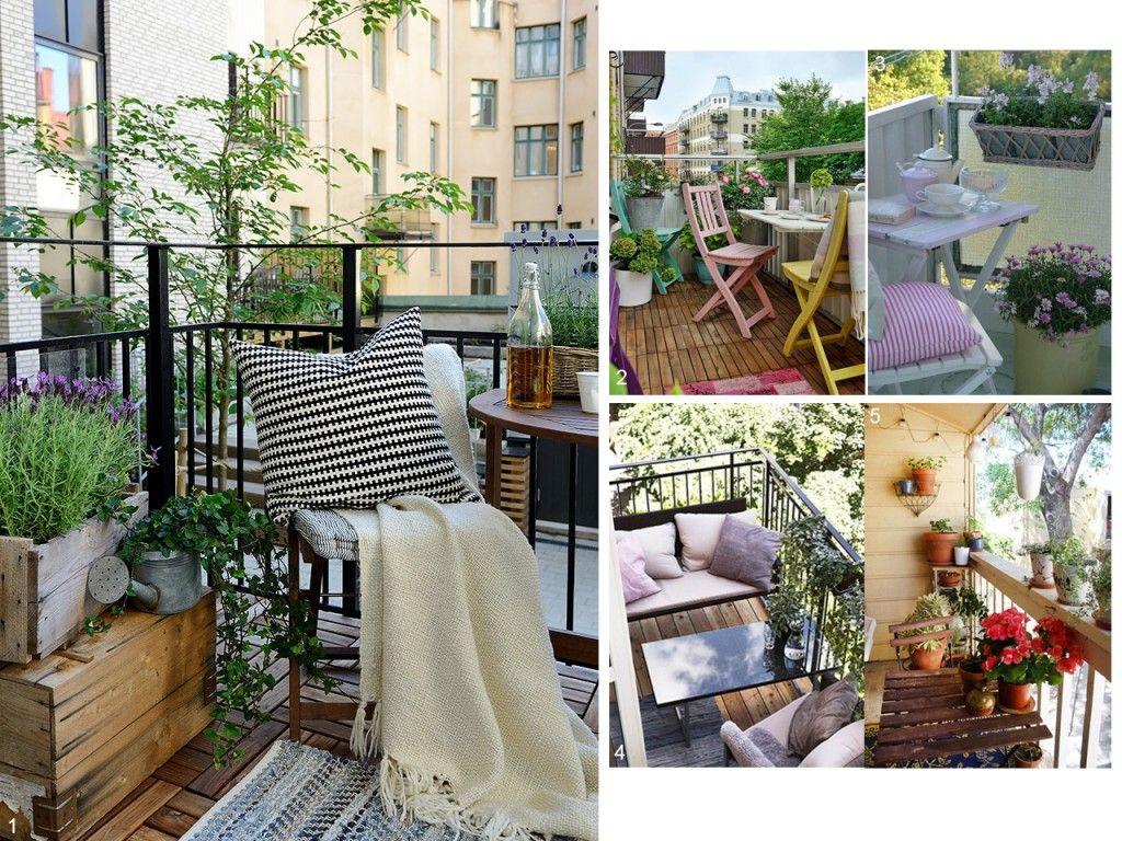 5 consejos para decorar balcones peque os con encanto for Como decorar un patio grande