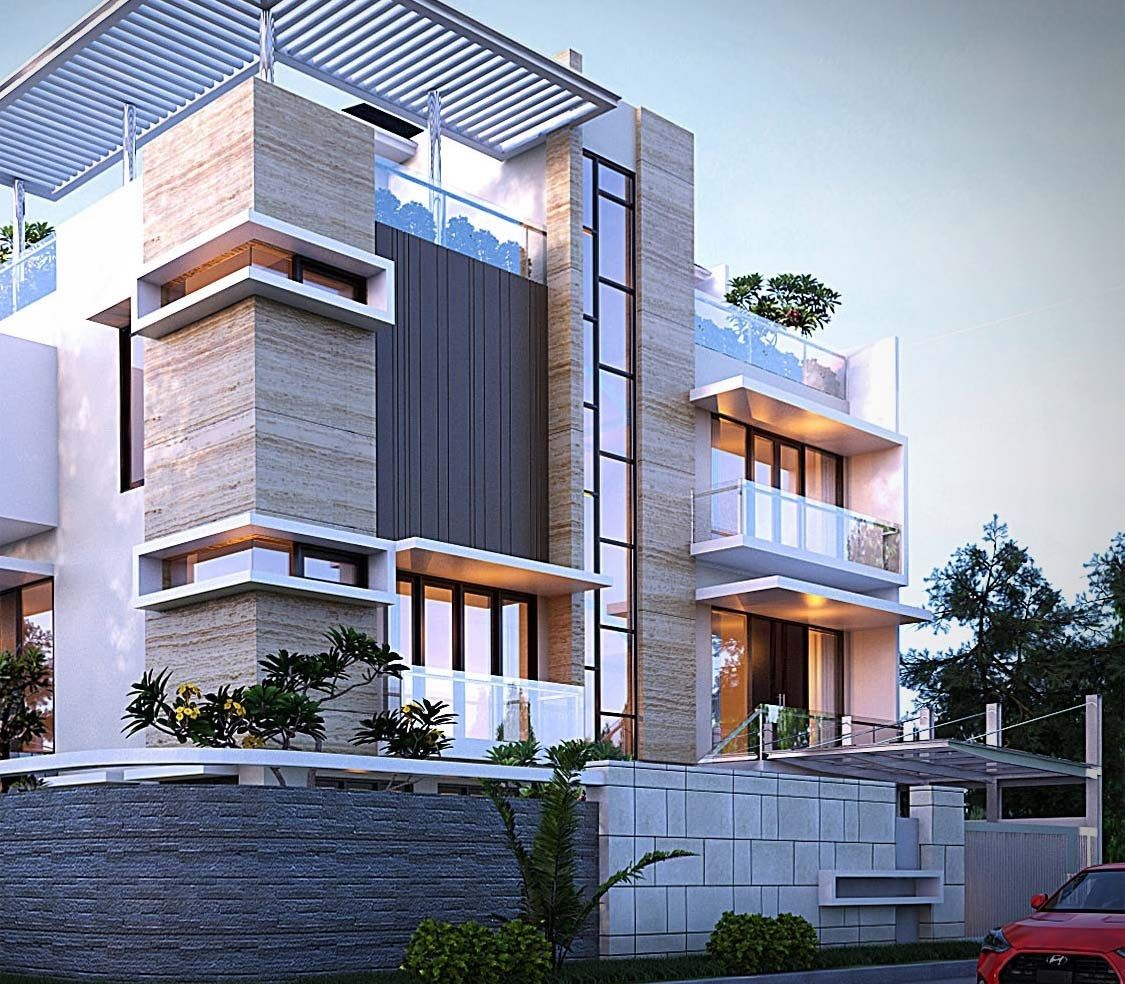 Sketchup Free 3d Model Modern Two Family House By Cepy