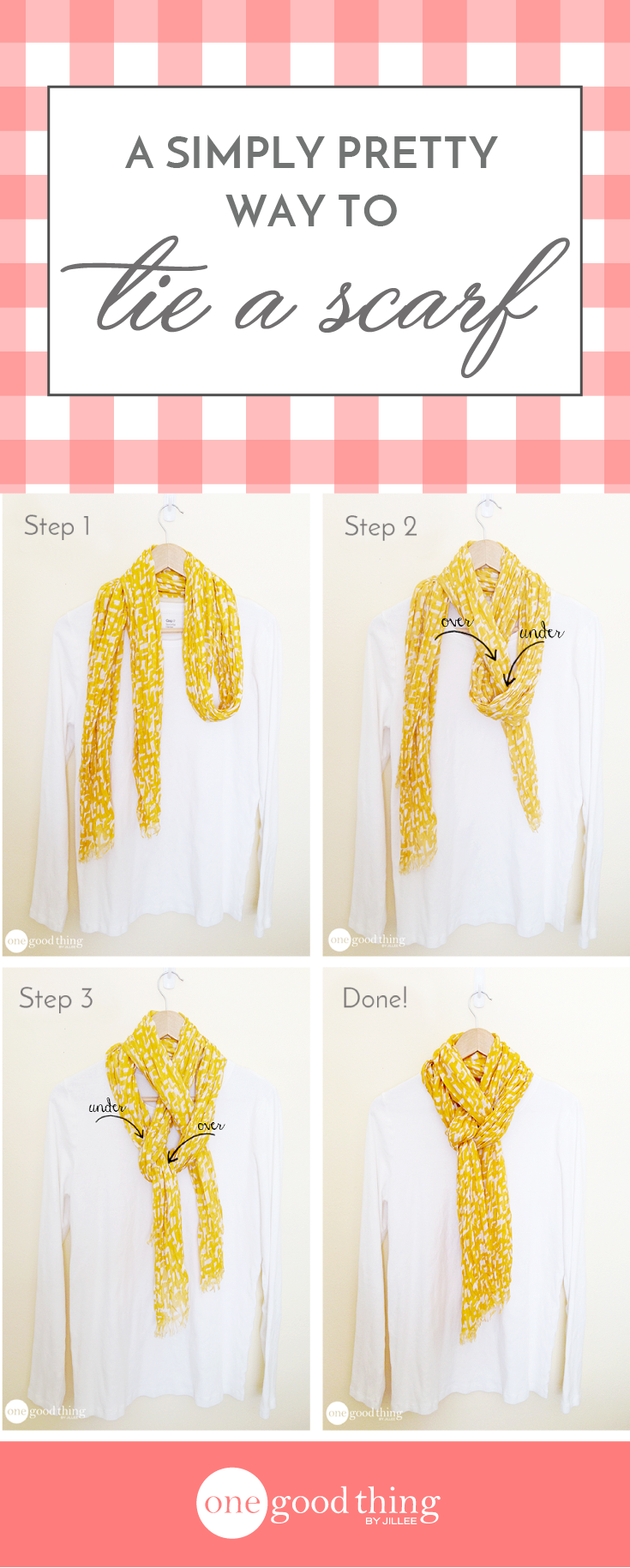 How to tie a scarf copy wear it pinterest tie a scarf how to tie a scarf copy ccuart Choice Image