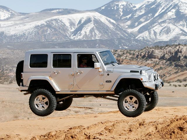 Concept 4X4 Trucks Moab Jeep Wrangler Unlimited Diesel  Cars