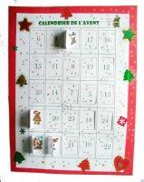 Calendrier de l'Avent à imprimer #calendrierdel#39;aventdiy