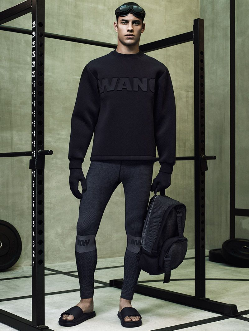 Fashion week Wang Alexander for HM Lookbook for lady