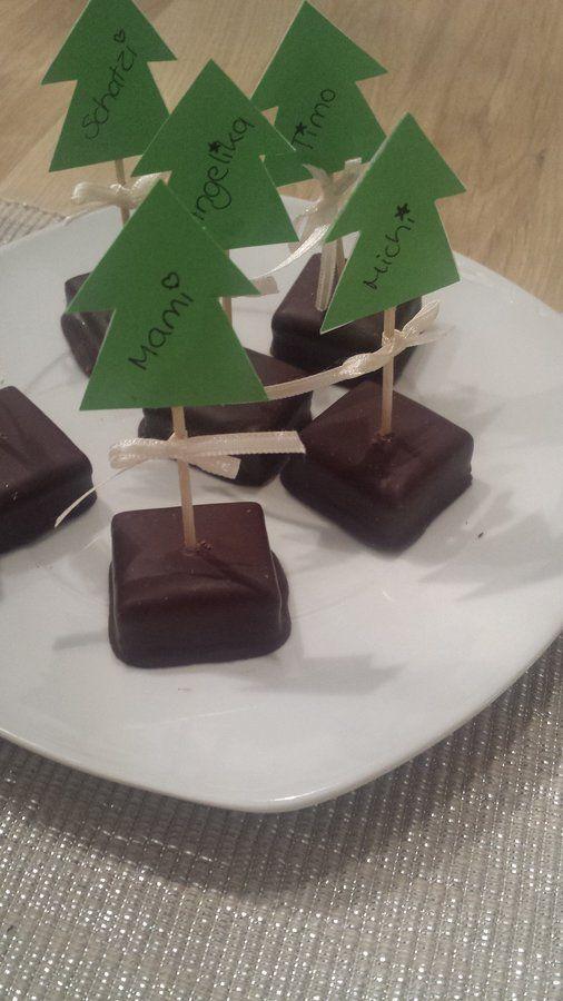 Tischkärtchen Oh Tannenbaum #christmasdeko