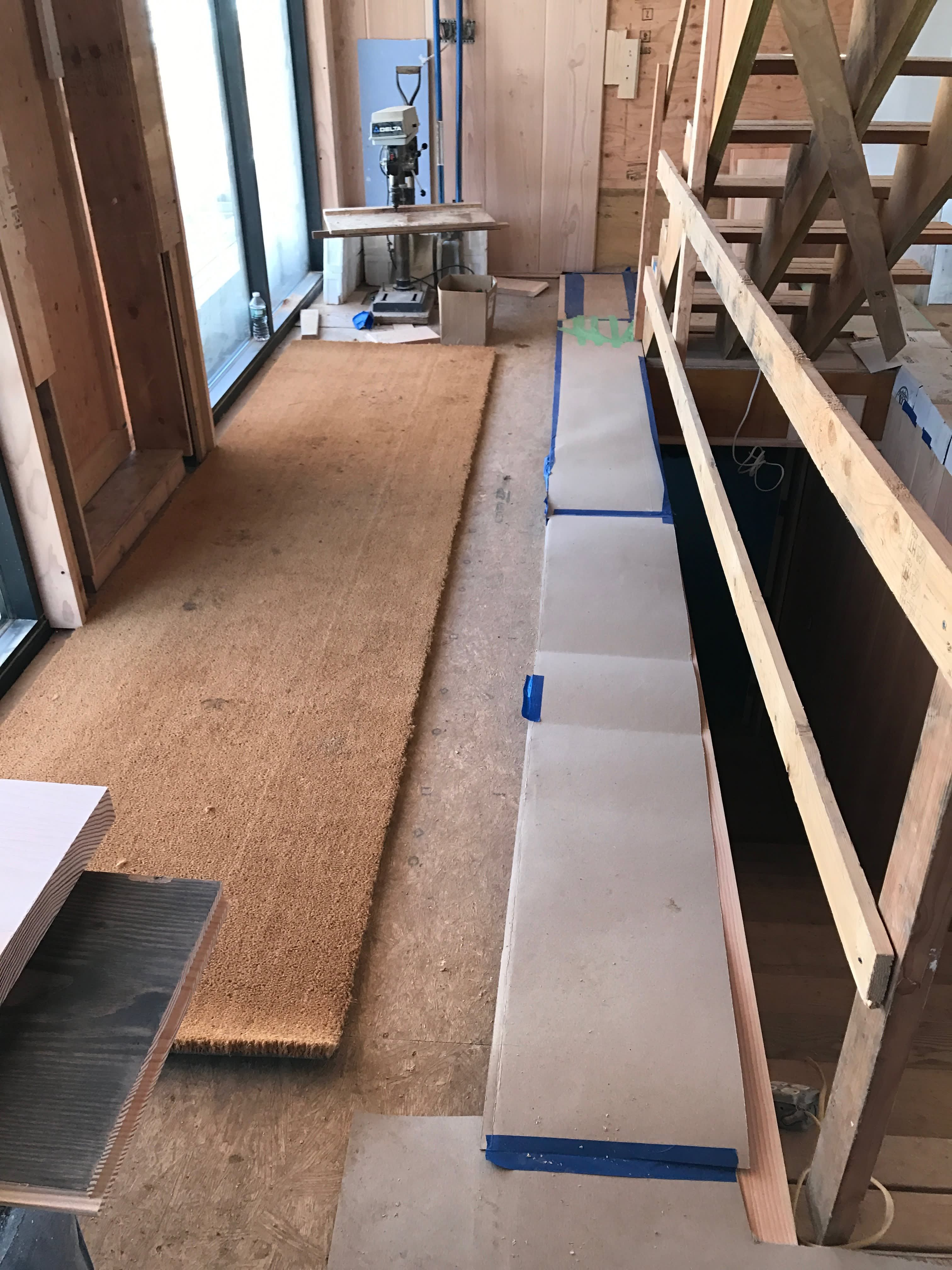 Over The Hump Bathrooms, Kitchen & Dinesen Floors Go Down ...
