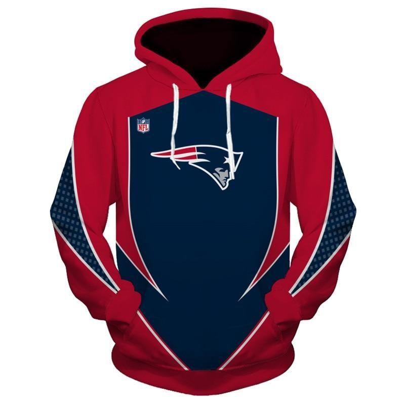 New Design Nfl Football New England Patriots 3d Hoodies Sweatshirt Custom Jacket Pullover New England Patriots Hoodie Football Outfits New England Patriots