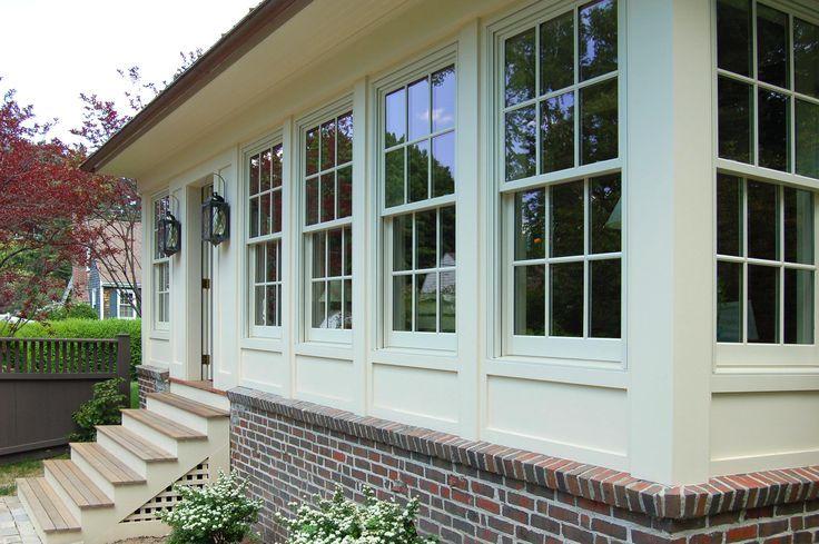 Enclosed Porch Look Enclosed Front Porches Porch Windows Porch